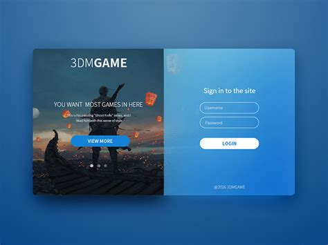 mobile login on computer login page by tao dribbble