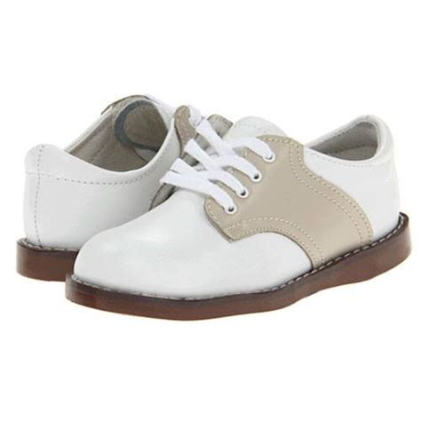 saddle oxford shoes for toddlers footmates boys white ecru saddle oxfords