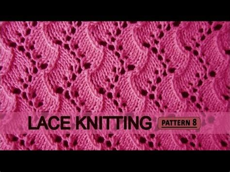 youtube knitting pattern traveling vine lace knitting pattern 8 youtube