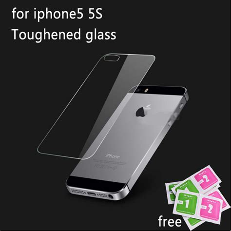 premium back tempered glass screen protector for apple
