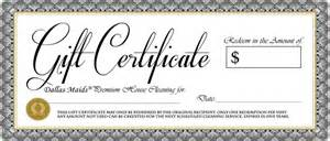 personal gift certificate template doc 480160 personal gift certificate template