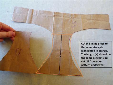 Pattern Making Underwear | panty tutorial how to sew underwear