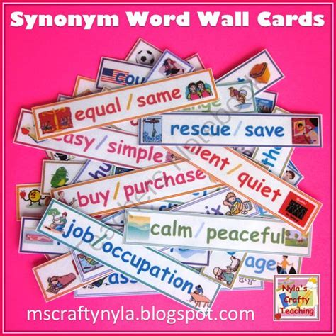 17 best images about synonyms and antonyms on