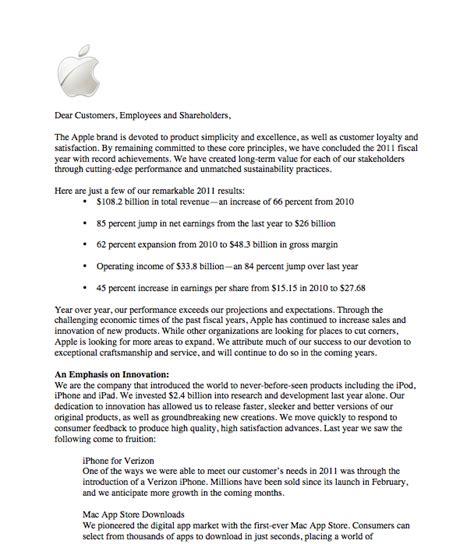 apple shareholder letter lauren osborns portfolio