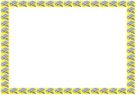 imagenes de margenes matematicas bordes decorativos trabajos escolares 31