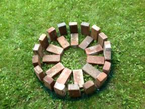 pit bricks step by step build your own pit the garden