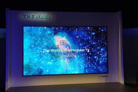 Tv Samsung Tempel Di Tembok samsung the wall un televisor modular con tecnolog 237 a microled 187 muycomputer