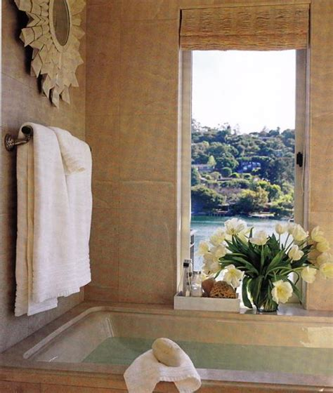 zen bathroom mediterranean bathroom elle decor