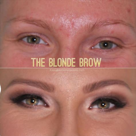 tattoo eyebrows for blondes fashion of luxury brow makeovers