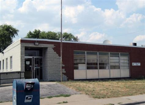 Cahokia Post Office by Beware The Fungus Two More Post Offices Closed Mold