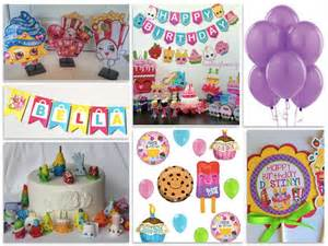 Shopkins birthday party tableware more shopkins party supplies