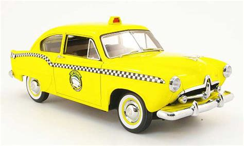 kaiser henry taxi miniature  uptown cab company jaune  sun star  voiture miniaturecom