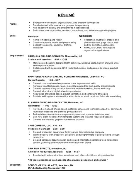 Resume Exle Skills by Resume Problem Solving Skills Exle 28 Images Resume