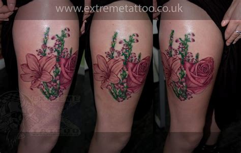 tattoo heather flower rose lilly scottish heather flower tattoo gabi tomescu