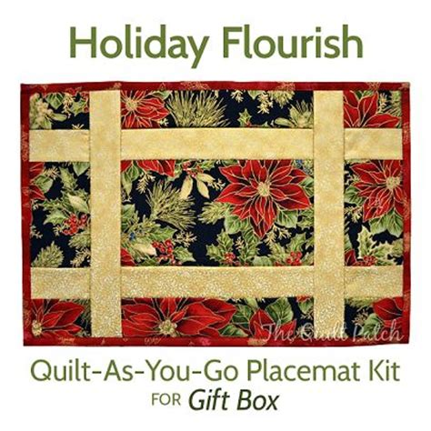 Quilt As You Go Placemats by Quilt As You Go Placemat Kit Gift Box Quot