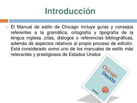 manual de estilo de manual de estilo chicago