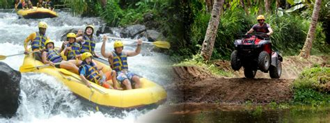 bali rafting  atv ride package bali river rafting