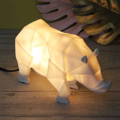 Origami Safari Animals - origami safari animal light by