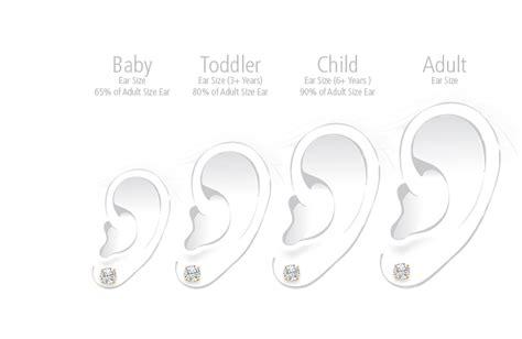5mm CZ Round Children's Earrings,  Back   14K Gold   Earrings