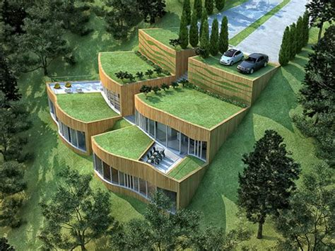 green roof house plans eco green rupe house architecture design sustainable design green building earth