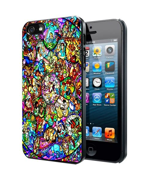Disney All Character Iphone 4 4s 5 5s 6 6s 6 Plus 6s Plus all characters disney stained glass samsung galaxy s3 s4 iphone 4 4s 5 5s 5c