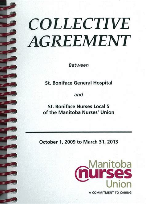 Collective Agreement Letter Of Understanding local 5 collective agreement