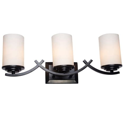 Yosemite Home Decor Vanity Lighting Family 3 Light Oil Bathroom Vanity Light Shades