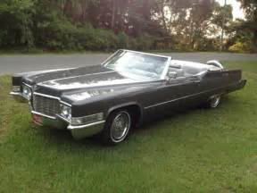 1969 Cadillac Coupe Convertible 1969 Cadillac Continental Convertible For Sale
