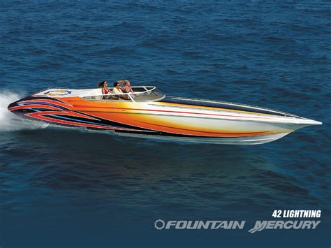 fountain boats home 1988 fountain 40 offshore boat clean gorgeous 40 fountain