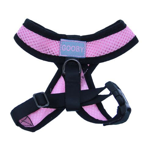 comfort dog harness comfort dog harness by gooby pink at baxterboo