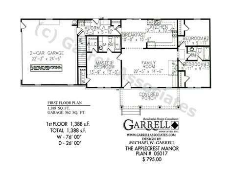 split bedroom ranch floor plans split level ranch one