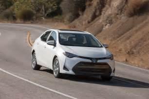 Quarter Toyota 2017 Toyota Corolla Eco Front Three Quarter In Motion 01