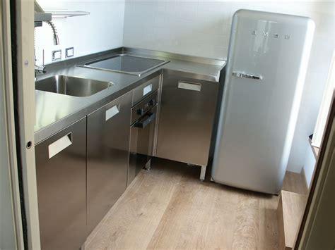 top cucina acciaio inox cucina acciaio inox top angolare borlina acciaio