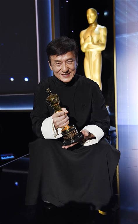 oscar film of the year video jackie chan finally given oscar after 56 years in