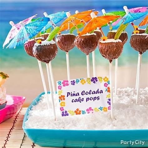 pi 241 a colada cake pops cool cakes and party ideas pinterest