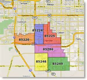 Chandler Zip Code Map chandler mortgage rates and information arizona mortgage
