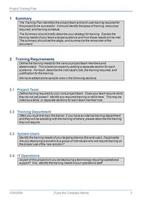 Certification Document Template by Plan Template Getprojecttemplates