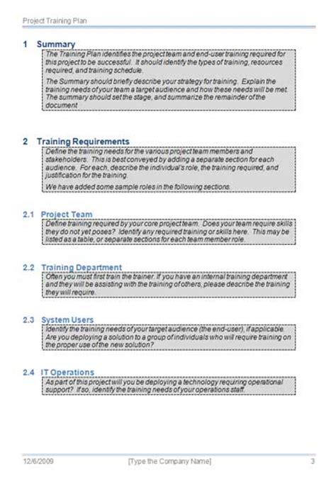 certification document template plan template getprojecttemplates