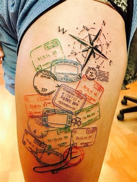 compass tattoo big 110 best compass tattoo designs ideas and images