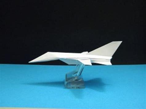 Origami F 14 - origami panavia tornado tutorial crafting paper