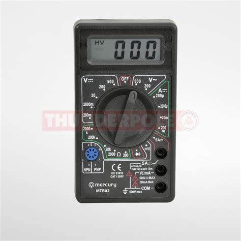 Multitester Mini Digital mini digital multitester test equipment thunderpole