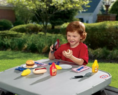 tikes backyard barbeque grillin goodies in