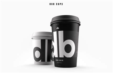 brew coffee house dark brew coffee house conceptual brand working with dark forces