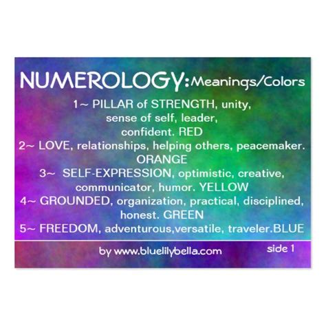 numerology colors numerology colors 28 images numerology laminated