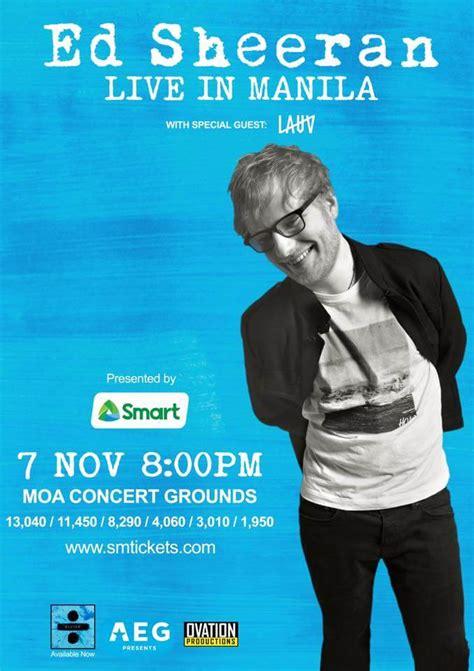 ed sheeran indonesia tour lauv to join ed sheeran in divide tour asia when in manila