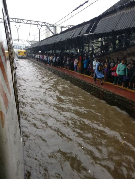 Rain wreaks havoc in Mumbai: Flights, trains delayed ...