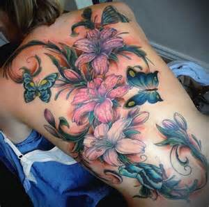 Back Flower Tattoos - back tattoos and designs page 554