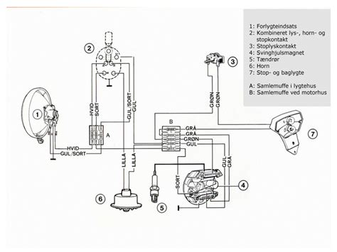 puch ms 50 wiring diagrams wiring diagrams