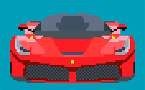 pixel art car pixel art on behance