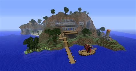 minecraft island house island retreat crafts
